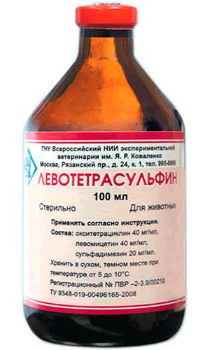 Левотетрасульфин